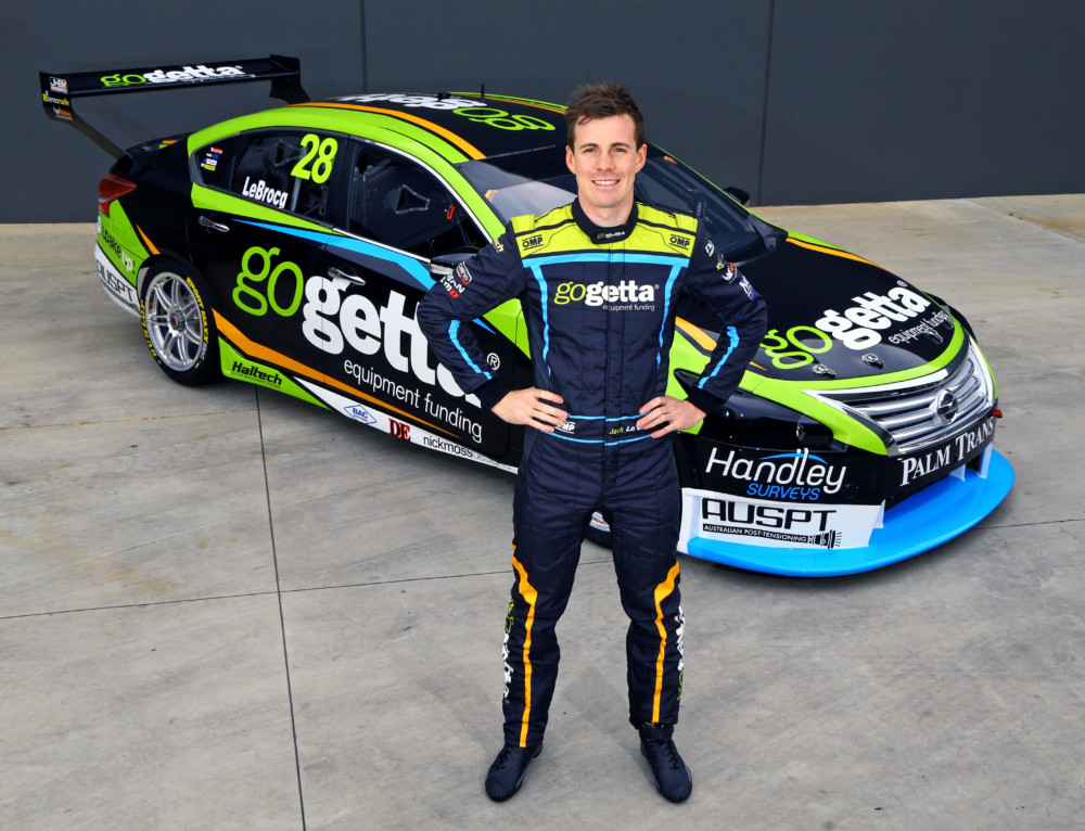 JACK LE BROCQ JOINS NISSAN PROGRAM