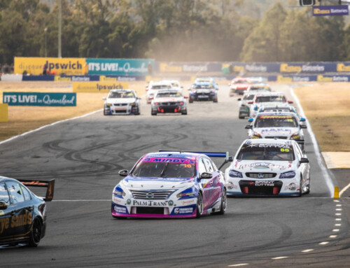 Bryce Fullwood wins Super2 race and round at Queensland